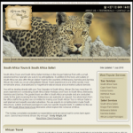 South Africa Tours - South Africa Safari Travel